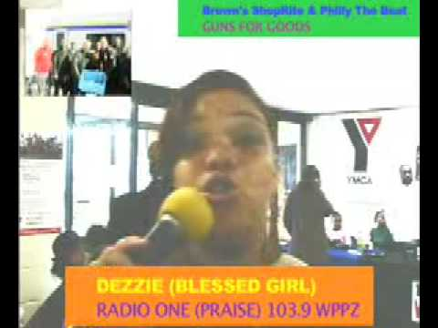 Dezzie Praise103 9 WPPZ and ShopRite GUNS FOR GOOD