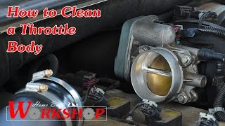 How to Clean a Throttle Body (2007 Chevy Trailblazer)