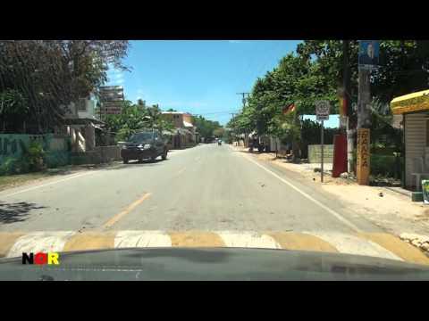 Fahrt durch Las Galeras, Samana 2012