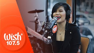 "Katrina Velarde performs ""Tala"" (Sarah Geronimo) LIVE on Wish 107.5 Bus"