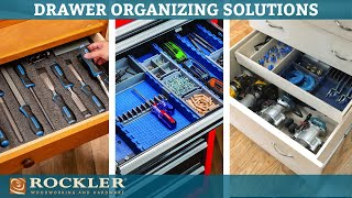3 Ways to Organize Your Cabinet Drawers