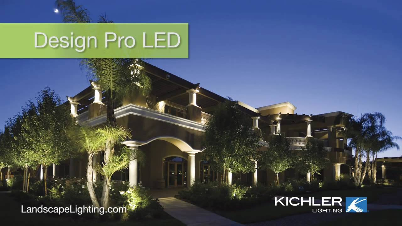 Kichler Design Pro Led Landscape Lighting Endorsed By Property Owners At Gorgeous California Winery