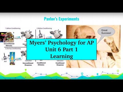 Unit 6 Myers' Psychology for AP - Part 1