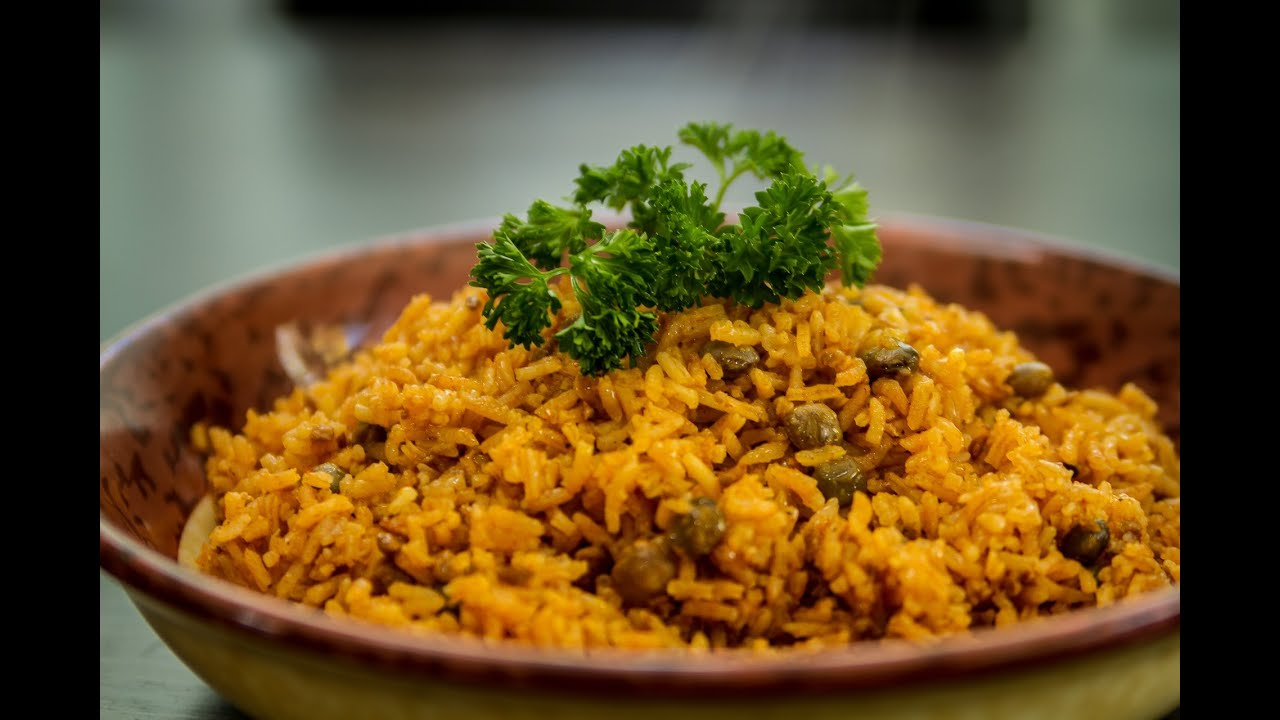 Arroz con Gandules, Vegan and Spanglish Style - YouTube