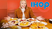 Trying IHOP's ENTIRE Pancake And Crepe Menu In 2 HOURS
