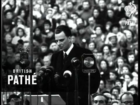 Billy Graham Ends Crusade (1954)