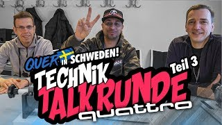 JP Performance - Technik Talk Audi quattro | Quer in Schweden! | Teil 3