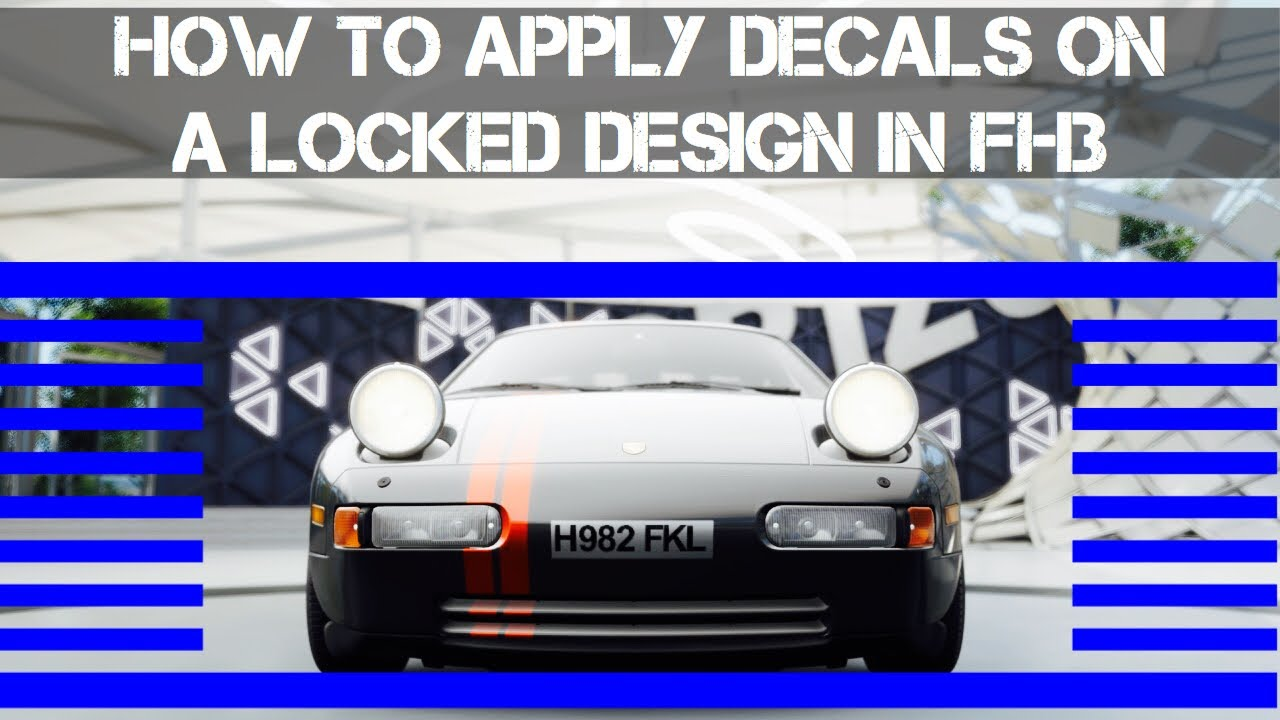Apply decals on locked designs glitch in forza horizon 3 how to add decals on other peoples paints