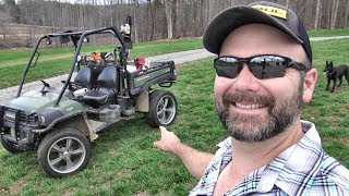 THIS CAN'T WORK!! STUFFING 20 INCH RIMS UNDER A JOHN DEERE GATOR!! NOW THAT'S HOTRODDING!!