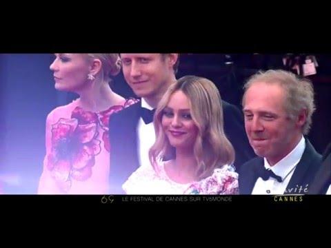 """Vanessa PARADIS à Cannes: """"Ma vie c'est du cinéma"""""""