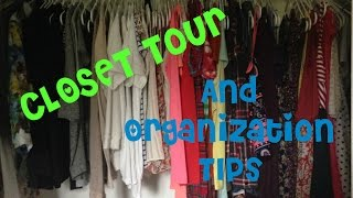 Closet Tour & Organization Tips Thumbnail