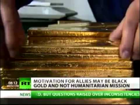 LIBYA EXPOSED,This Is The Real Reason For Regime Change - GOLD