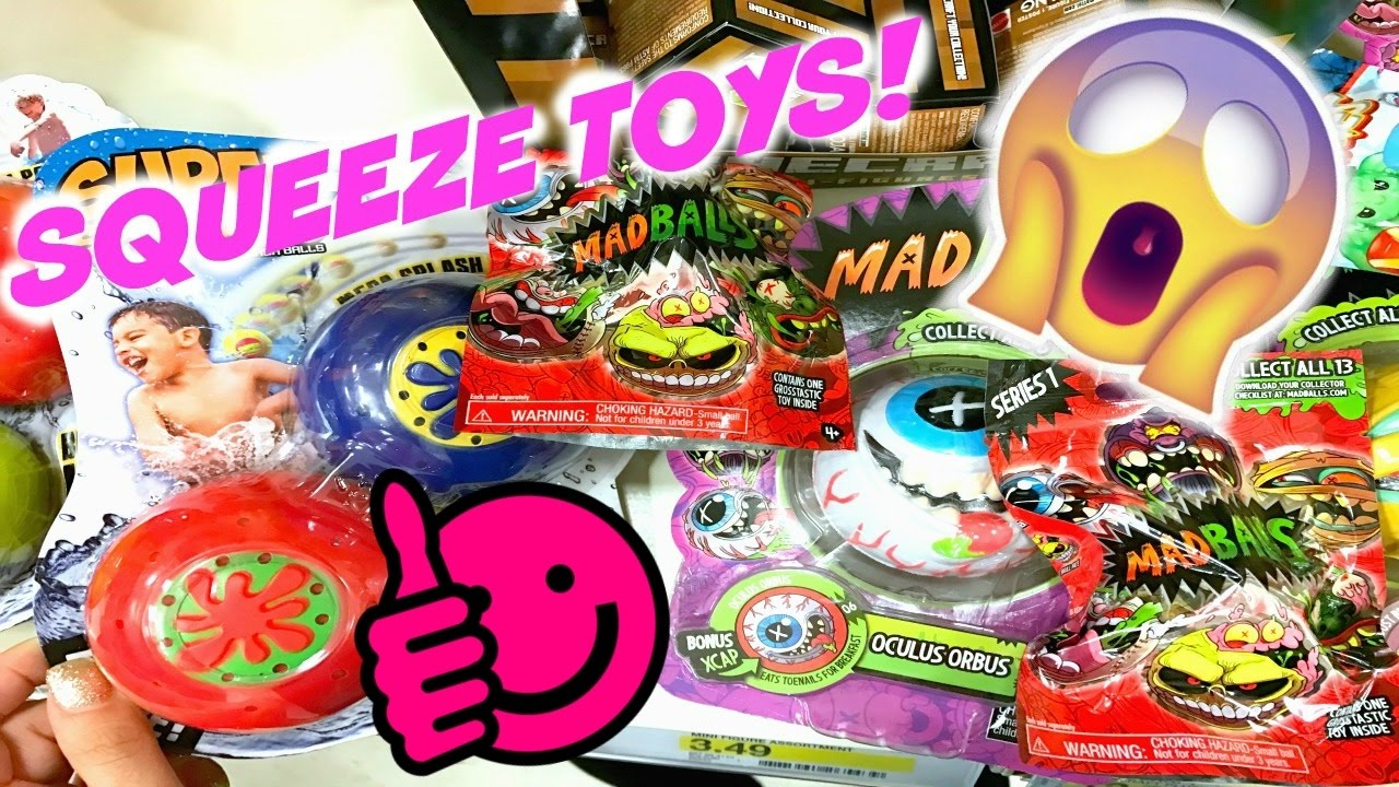Squishy Hunting : SQUISHY SQUEEZE TOYS HUNTING IN STORES VLOG MADBALLS? - YouTube