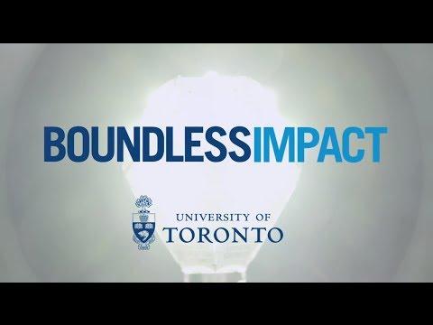 University Of Toronto: Boundless Impact