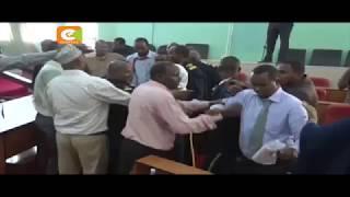 Madiwani warushiana makonde ndani ya bunge la kaunti ya Mandera