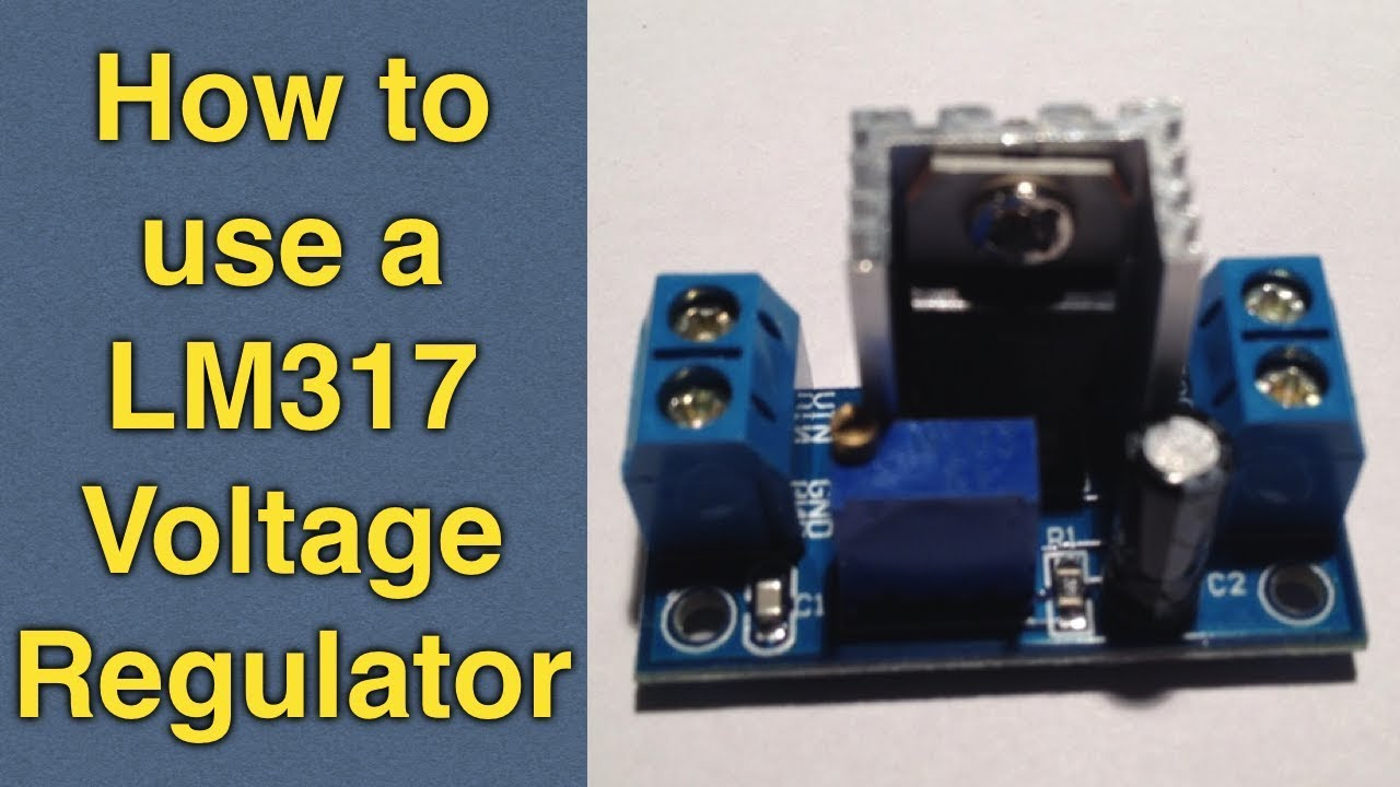 Lm317 Voltage Regulator Tutorial How To Use A Buck Converter Step Power Supply Using Lm 317 Lm337 Electronic Circuits And Diagram Down Module For Diy Electronics Youtube