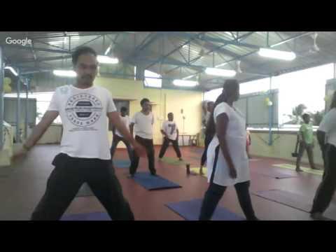 World Yoga Day Celebration - School of Santhi, Chennai - Session 1