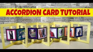 accordion card tutorial/birthday card