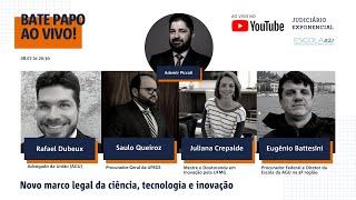MARCO LEGAL DA CIÊNCIA, TECNOLOGIA E INOVAÇÃO | JUDICIÁRIO EXPONENCIAL