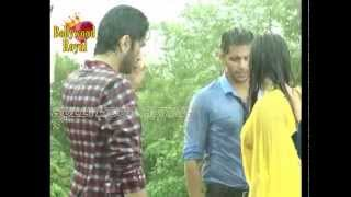 On Location of TV Serial 'Qubool Hai' Part  1