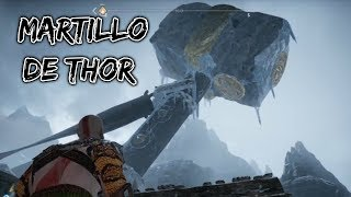 God of War | KRATOS TIRA EL MARTILLO DE THOR PARA LLEGAR AL CINCEL MÁGICO | Ep.21