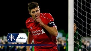 Video Gol Pertandingan AFC Wimbledon vs Liverpool