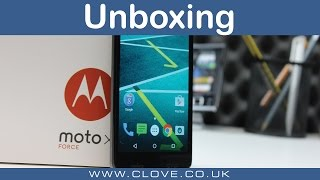 Motorola Moto X Force Unboxing