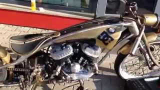 Harley Davidson WLA Custom bike