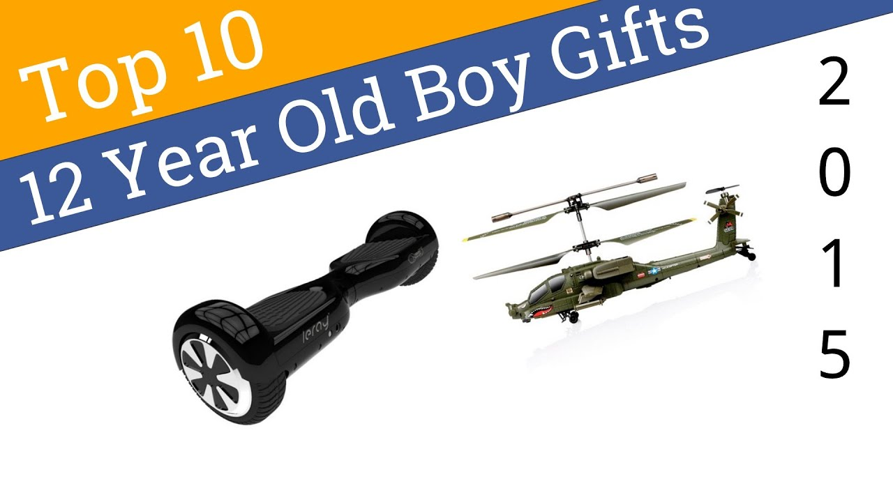 12 year old boys christmas gift ideas