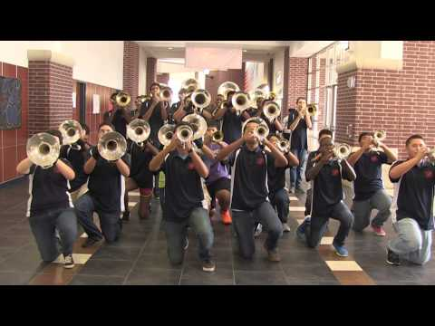 "Manvel High School Band - "" The Battle of the High School Marching Bands"""