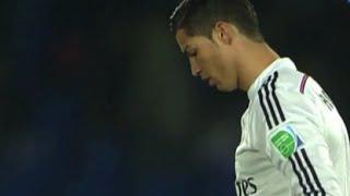 Ronaldo Amazing skills *Rabona kick/Bicycle kick* vs Cruz Azul 12-17-2014