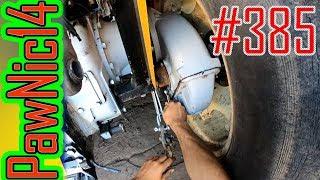 Luzy na kole Ursusa, bronowanie i test opcji time-laps - Życie zwyczajnego rolnika #385