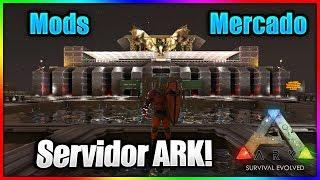 SERVIDOR de ARK con MODS y MERCADO con KITS! (Eventos y Subastas) Pagina Web y DISCORD! The Island