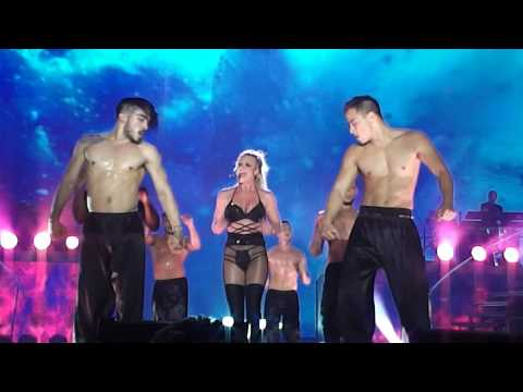 Britney Spears - Slumber Party + Touch Of My Hand (Live In Tel Aviv 2017)
