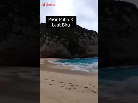 Kelingking Beach, Pantai Terkenal di Nusa Penida #shorts