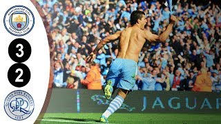 Manchester City City vs QPR Premier League 3-2 2011/2012 Full Highlights HD