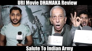 URI DHAMAKA Review 💥💥💥 Vicky Kaushal NAILED It 👍 | Gaiety Galaxy HOUSEFULL REVIEW
