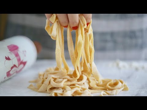 How to make a good pasta without sauce with cream or flour