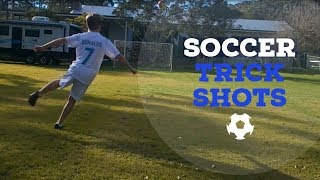 Soccer trick shots|Cal Soccer Trick shots