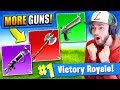 MORE *NEW* GUNS that should be in Fortnite: Battle Royale!