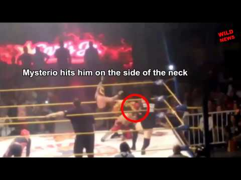 REY MYSTERIO ACCIDENTALLY KILL WRESTLER PERRO AGUAYO JR ACTUAL FOOTAGE