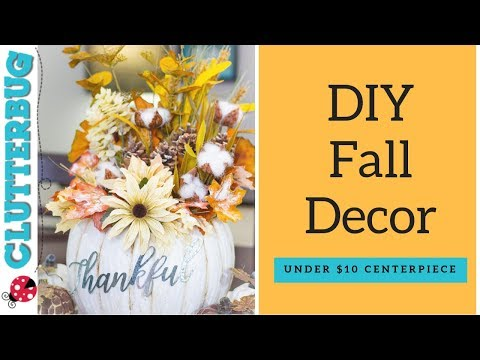 DIY Fall Decor for Under $10