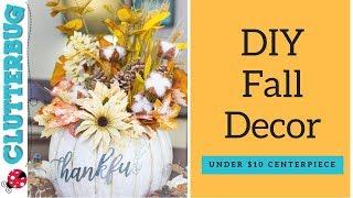 DIY Fall Decor for Under $10