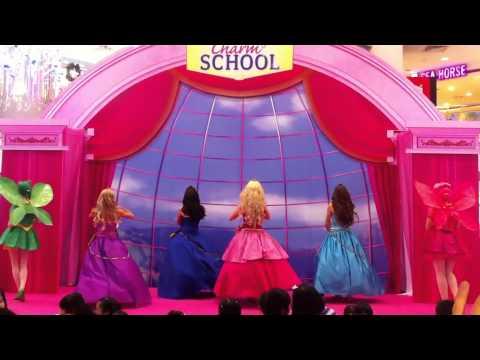"Barbie Princess Charm School Live Singapore ""We Rule This School"""