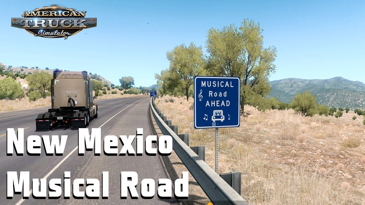 Ats New Mexico Musical Road Route 66 Youtube