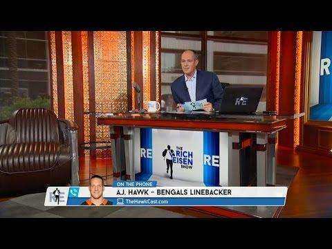 Bengals LB A.J. Hawk Calls in to The RE Show - 7/30/15