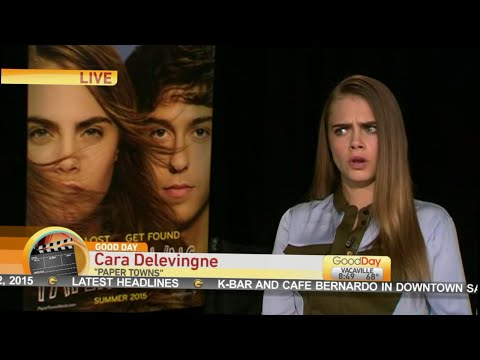 Cara Delevingne Talks About 'Paper Towns'