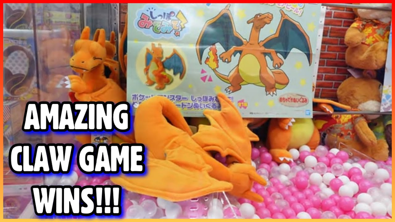 AMAZING CLAW GAME WINS!!!