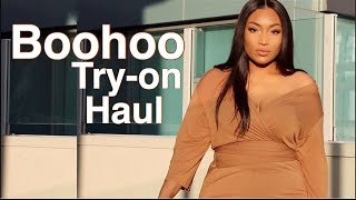 Boohoo Try-on Spring Break Haul -irisbeilin