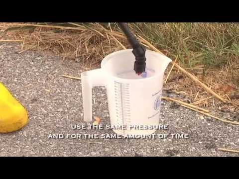 Agriculture Education - Calibrating Your Backpack Sprayer